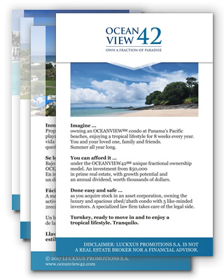 Download our Oceanview42 Flyer